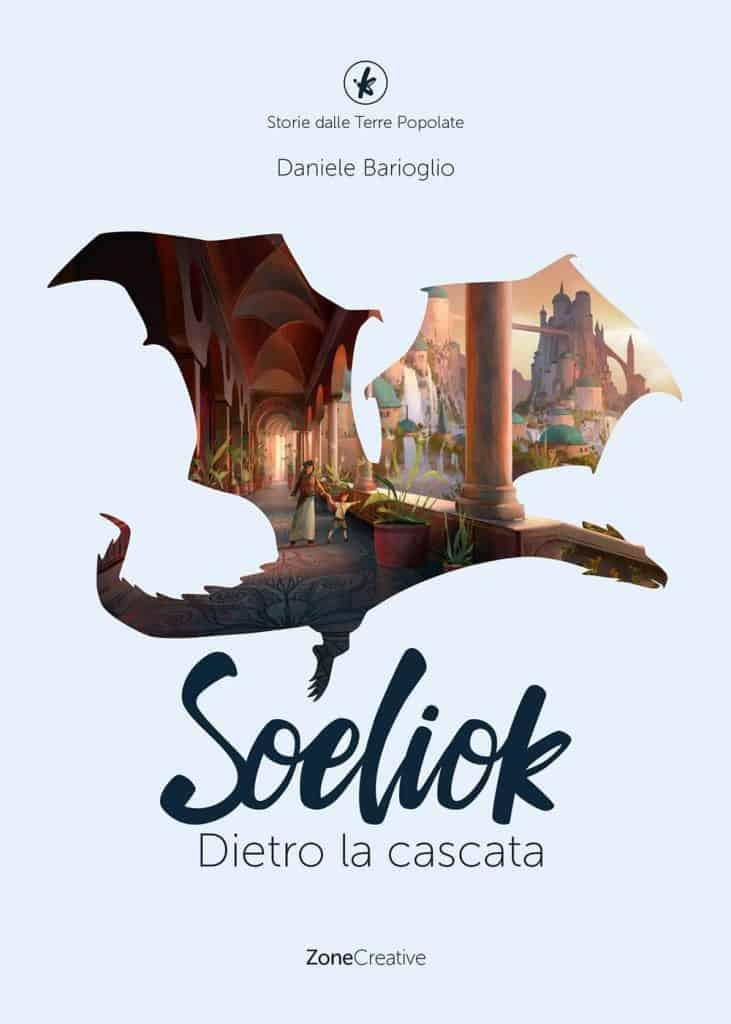 copertina del libro 3 di Soeliok: dietro la cascata