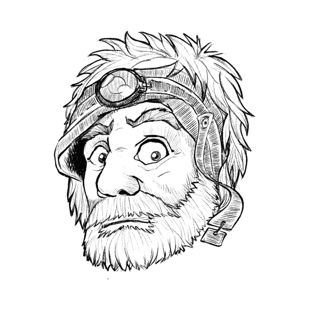 ritratto di un personaggio di Soeliok: Nodfri, nano delle montagne
